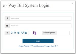ewaybill login portal