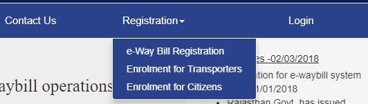 eway bill registration